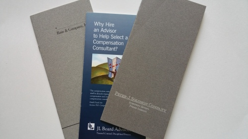 Vest Pocket Brochures